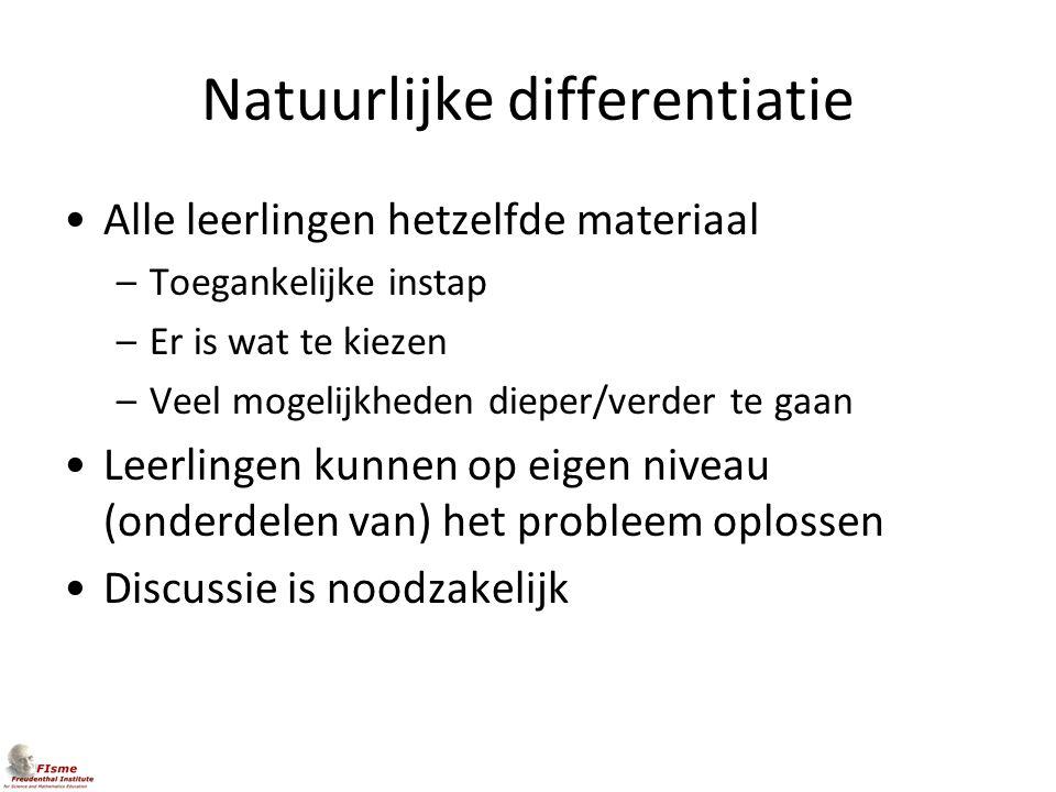 Natuurlijke differentiatie