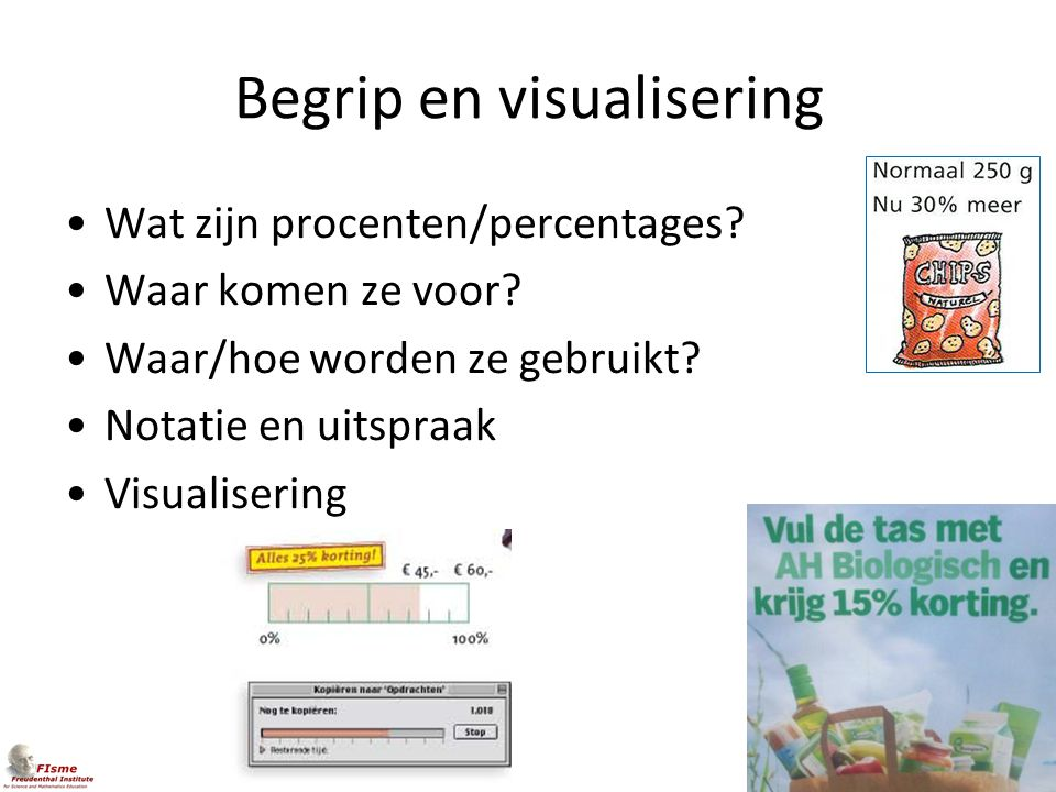 Begrip en visualisering