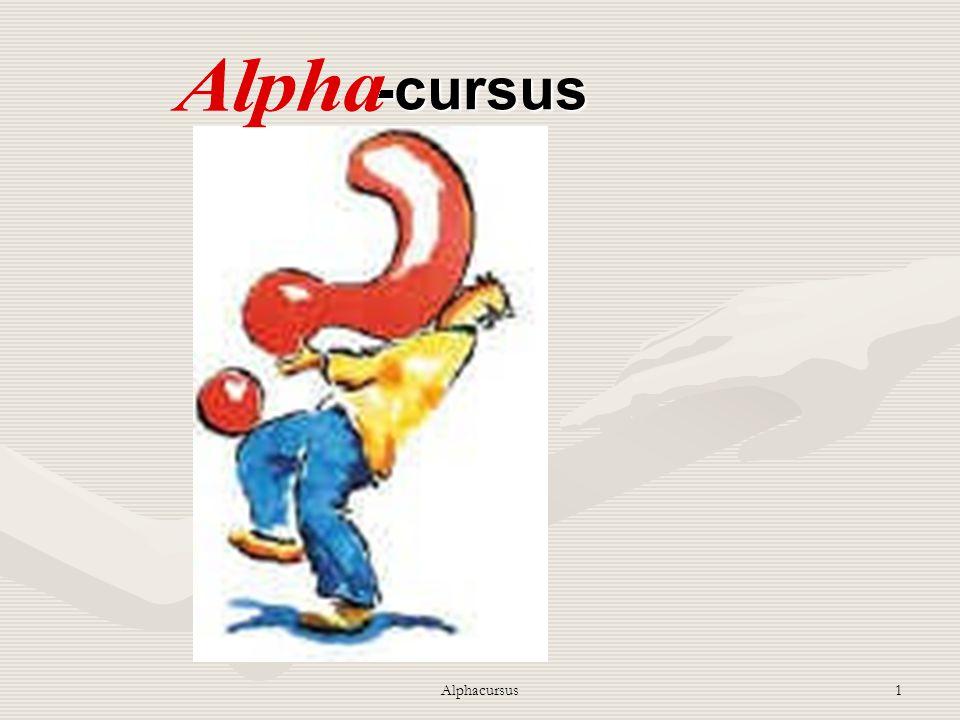 Alphacursus -cursus Alphacursus Bijbel lezen wqaarom en hoe