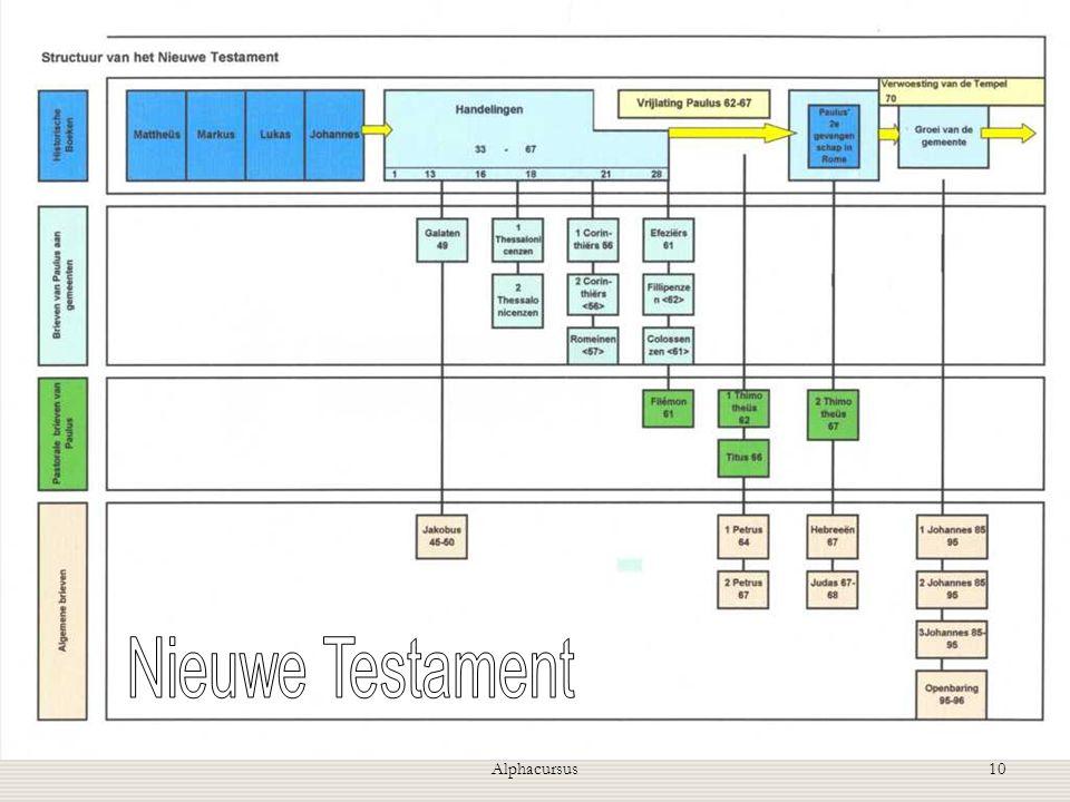 Nieuwe Testament Alphacursus