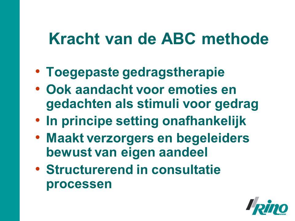 Kracht van de ABC methode
