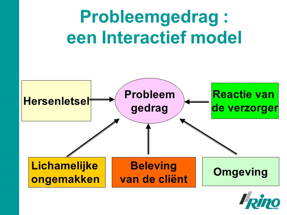 Probleemgedrag : een Interactief model