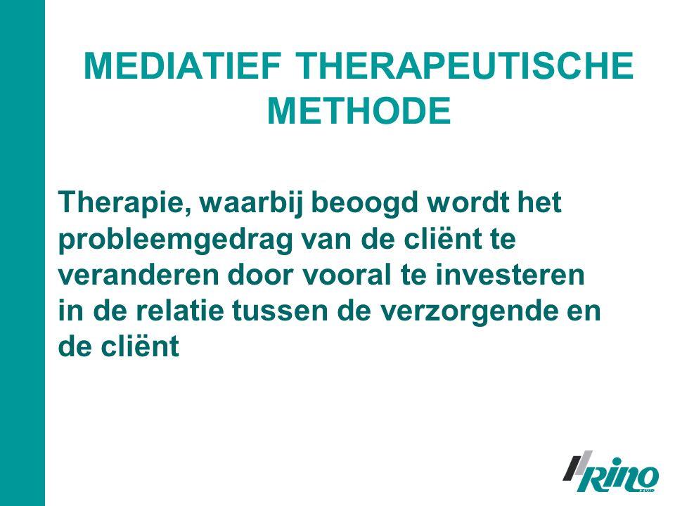 MEDIATIEF THERAPEUTISCHE METHODE