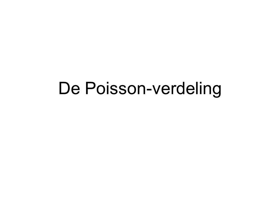 De Poisson-verdeling