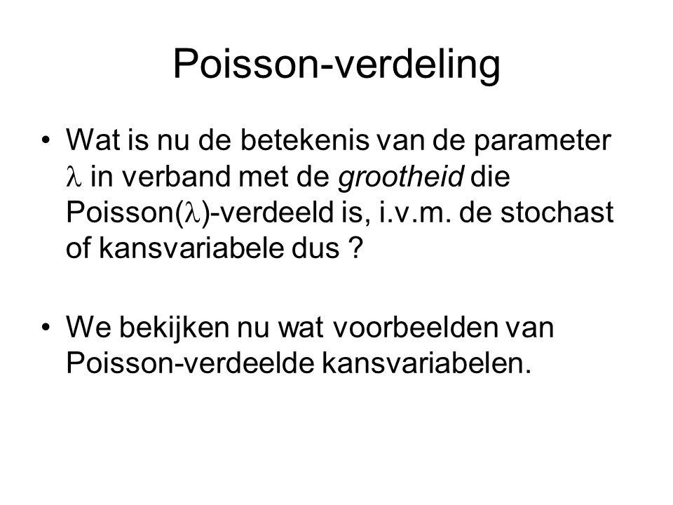 Poisson-verdeling