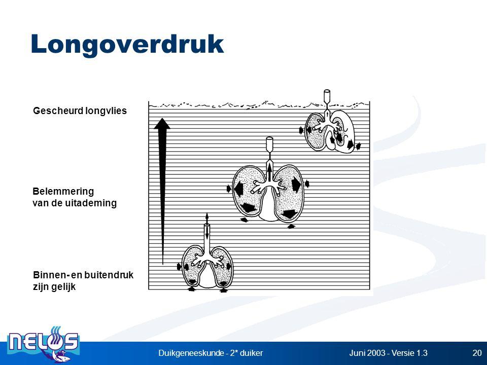 Duikgeneeskunde - 2* duiker