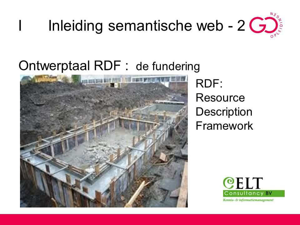 I Inleiding semantische web - 2