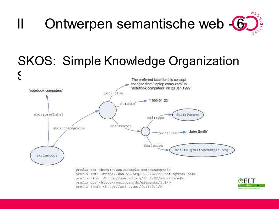 II Ontwerpen semantische web - 6