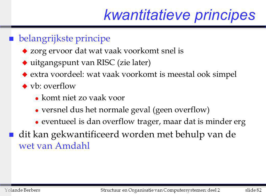 kwantitatieve principes