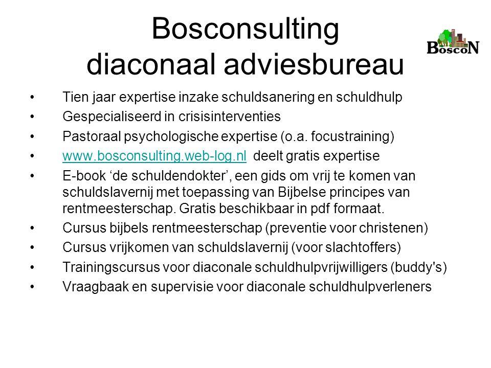 Bosconsulting diaconaal adviesbureau