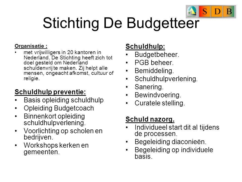 Stichting De Budgetteer