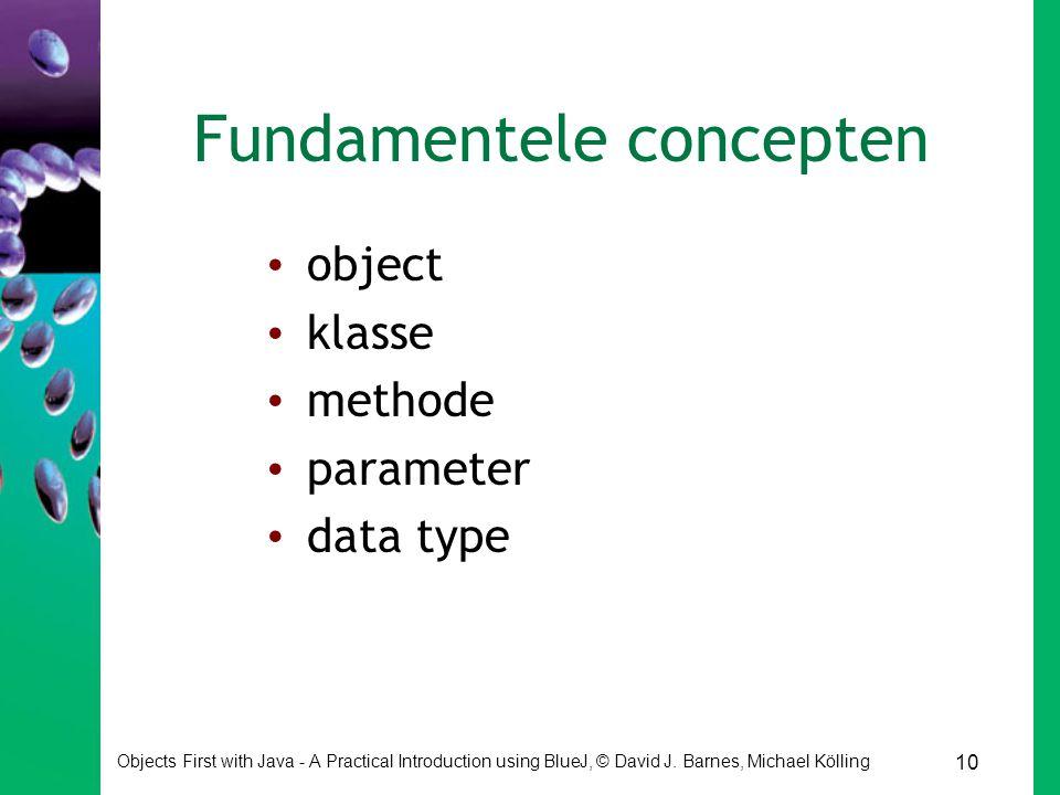 Fundamentele concepten