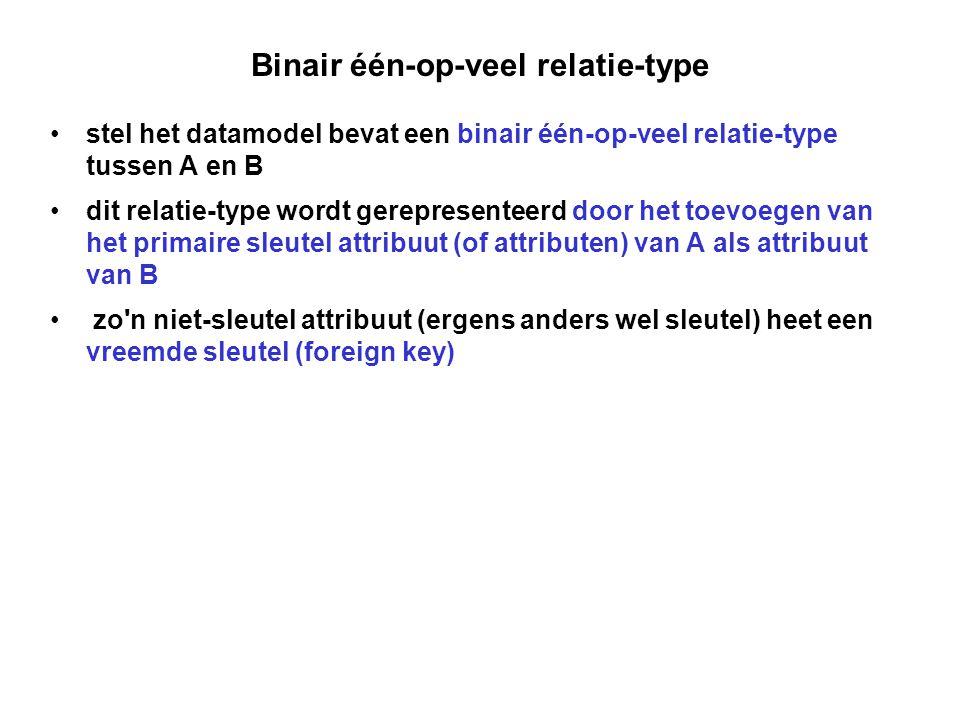 Binair één-op-veel relatie-type