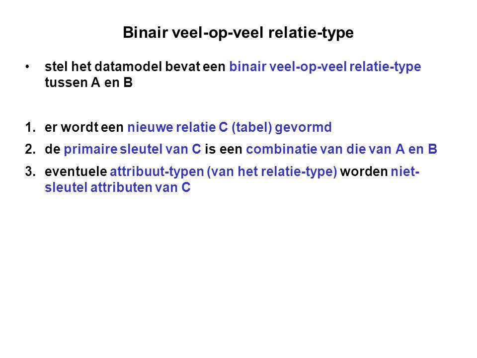 Binair veel-op-veel relatie-type