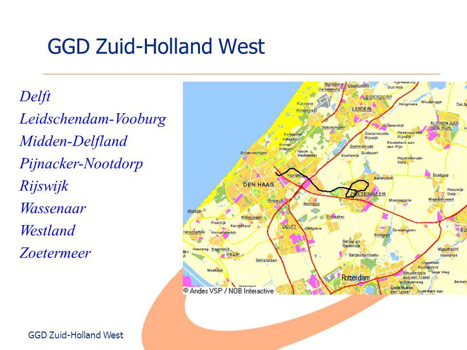 GGD Zuid-Holland West Delft Leidschendam-Vooburg Midden-Delfland
