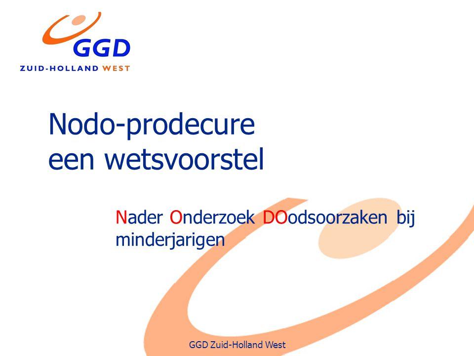 Nodo-prodecure een wetsvoorstel