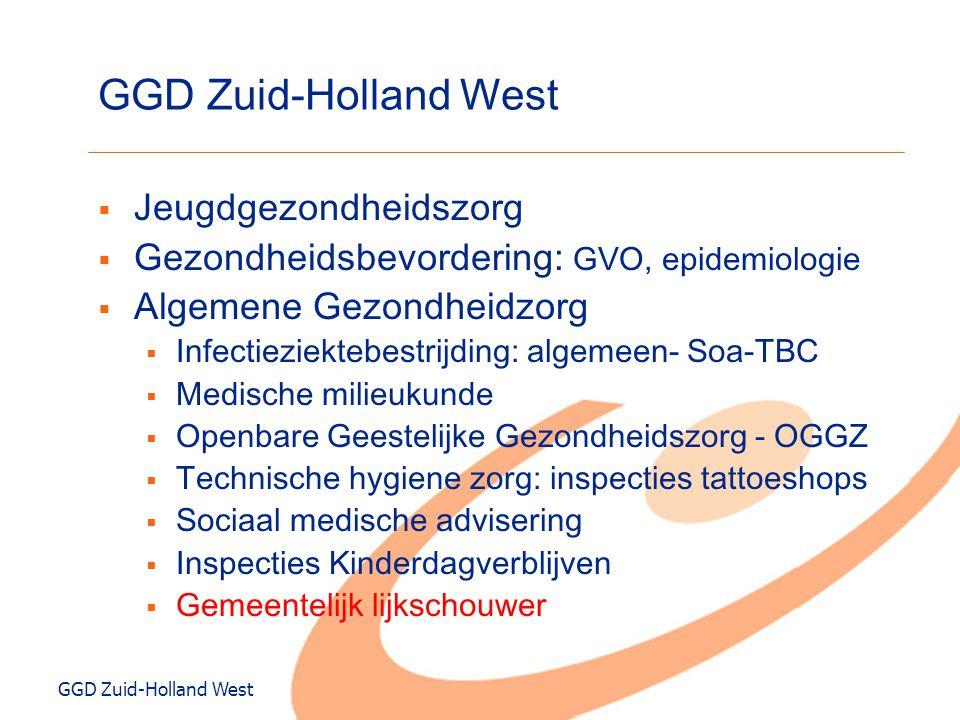 GGD Zuid-Holland West Jeugdgezondheidszorg