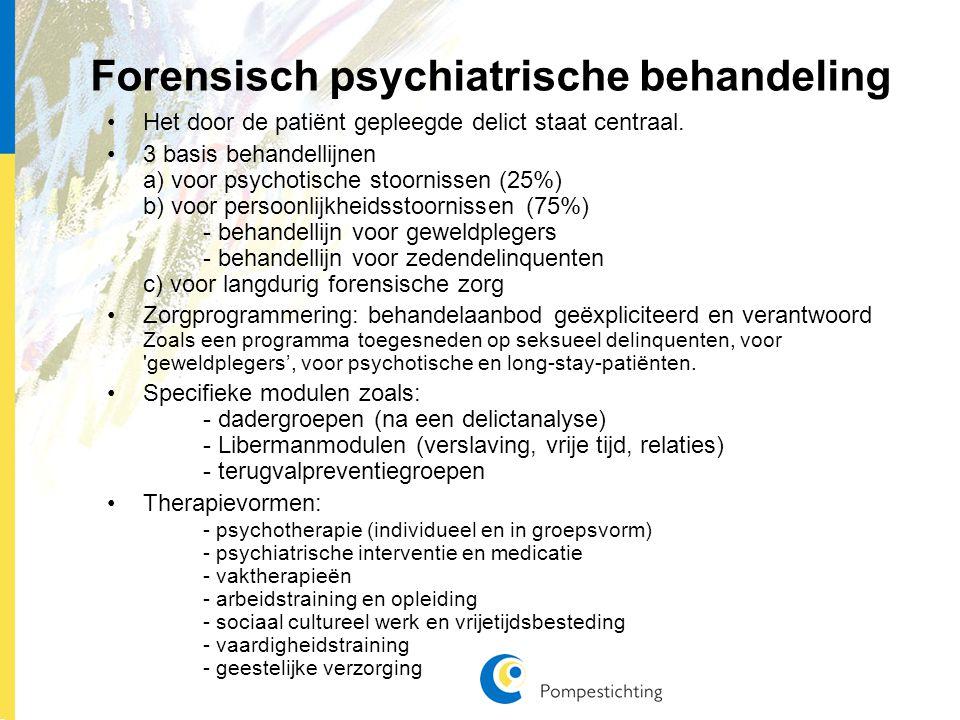 Forensisch psychiatrische behandeling