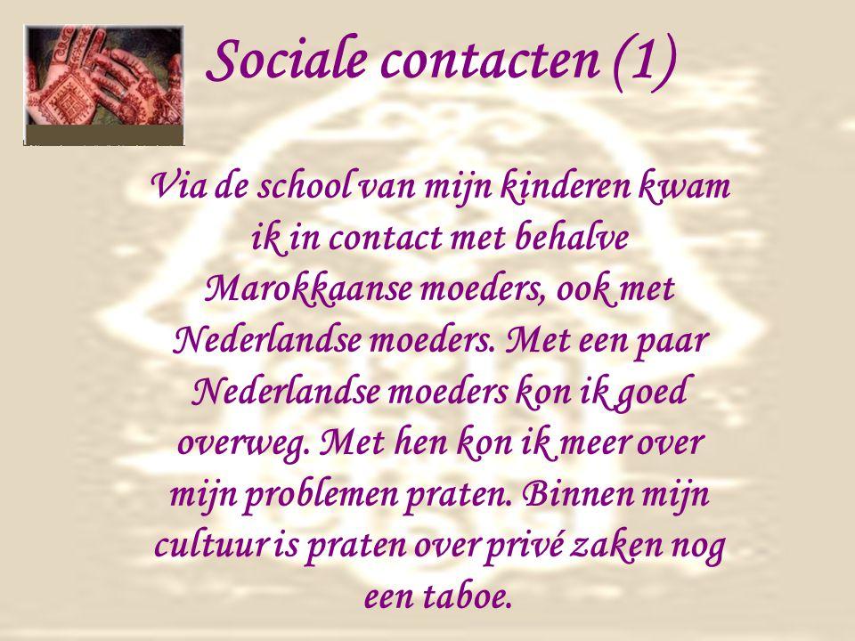 Sociale contacten (1)