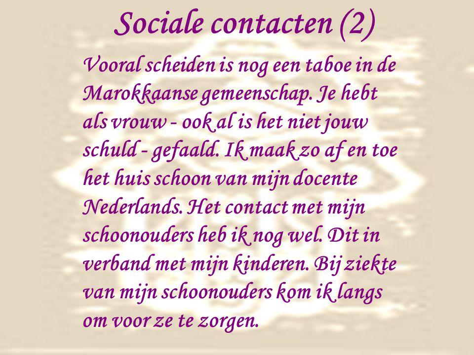 Sociale contacten (2)