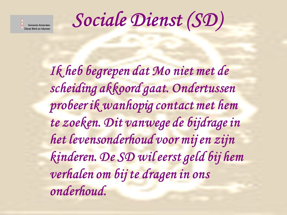 Sociale Dienst (SD)