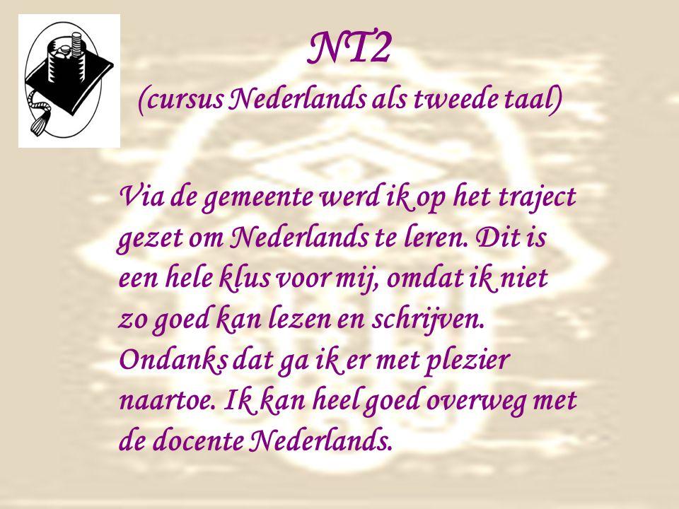 NT2 (cursus Nederlands als tweede taal)