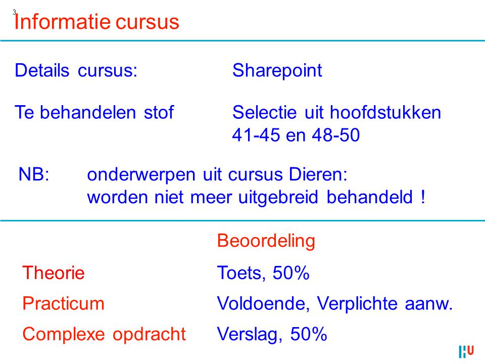 Informatie cursus Details cursus: Sharepoint Te behandelen stof