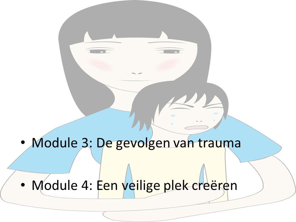 Module 3: De gevolgen van trauma