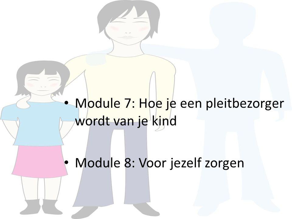 Module 7: Hoe je een pleitbezorger wordt van je kind