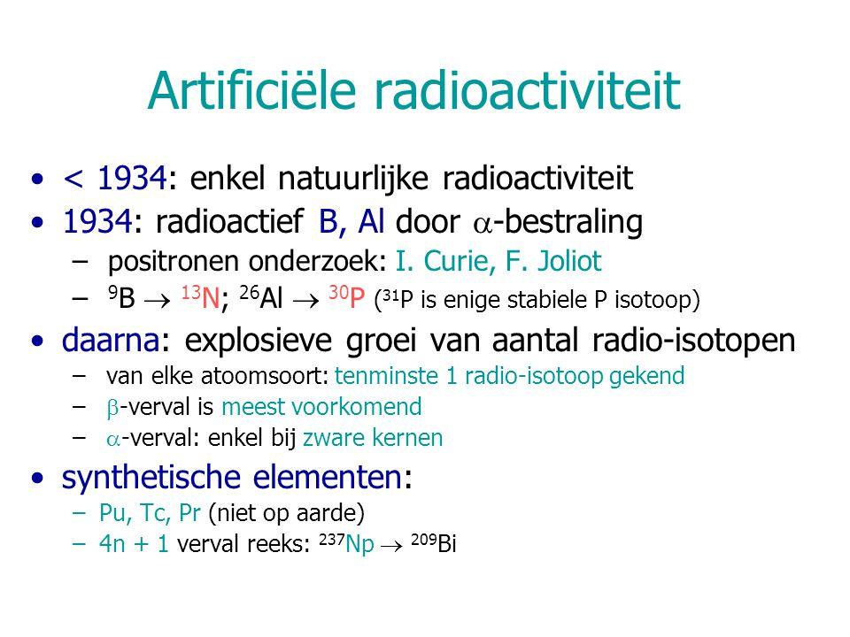 Artificiële radioactiviteit