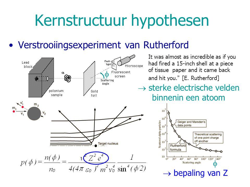 Kernstructuur hypothesen