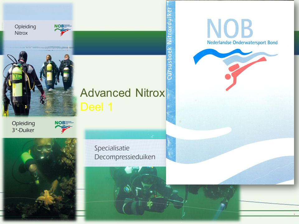 Advanced Nitrox Deel 1
