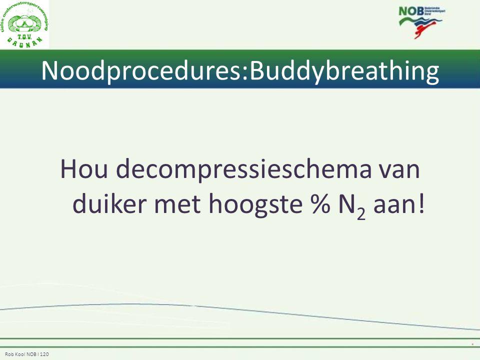 Noodprocedures:Buddybreathing