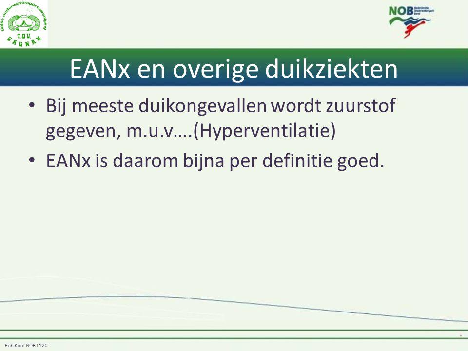 EANx en overige duikziekten