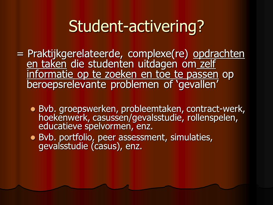 Student-activering