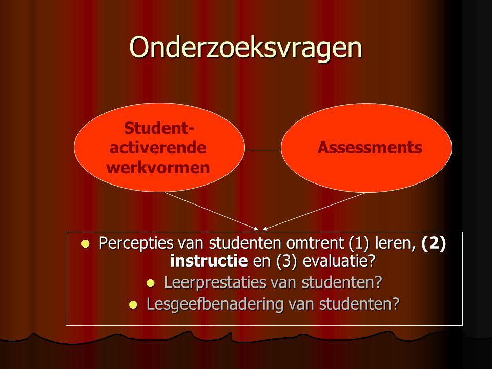 Student-activerende werkvormen