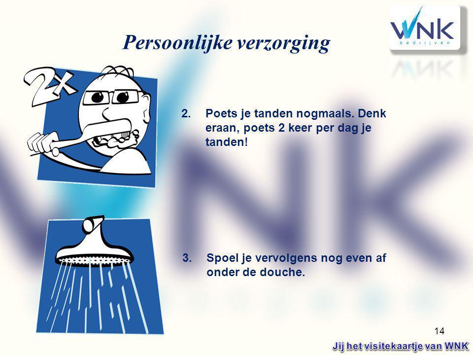 Jij het visitekaartje van WNK
