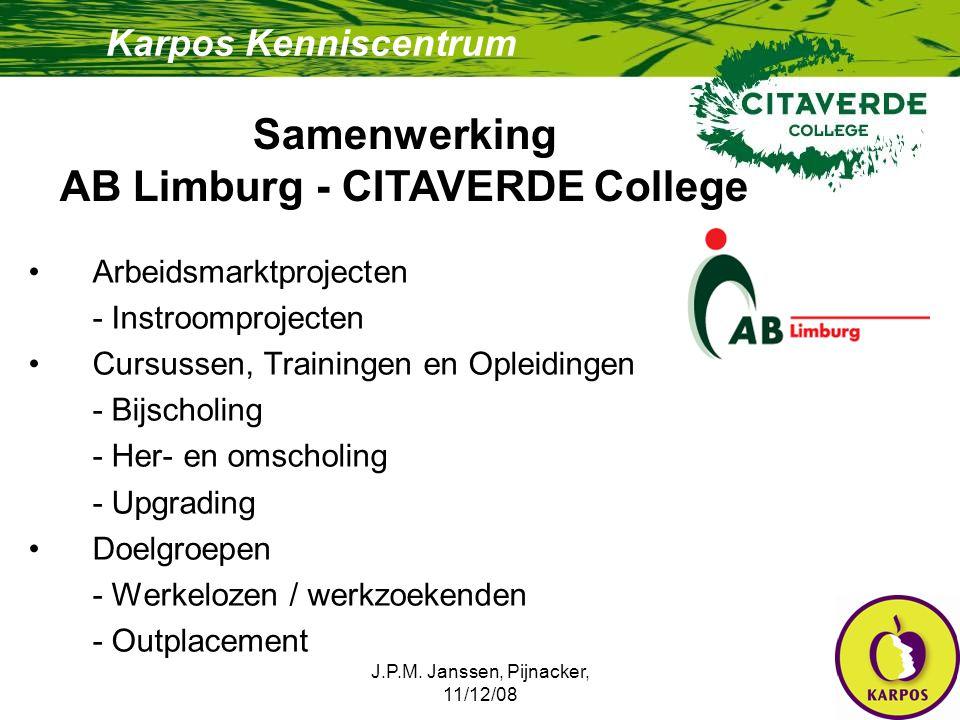AB Limburg - CITAVERDE College