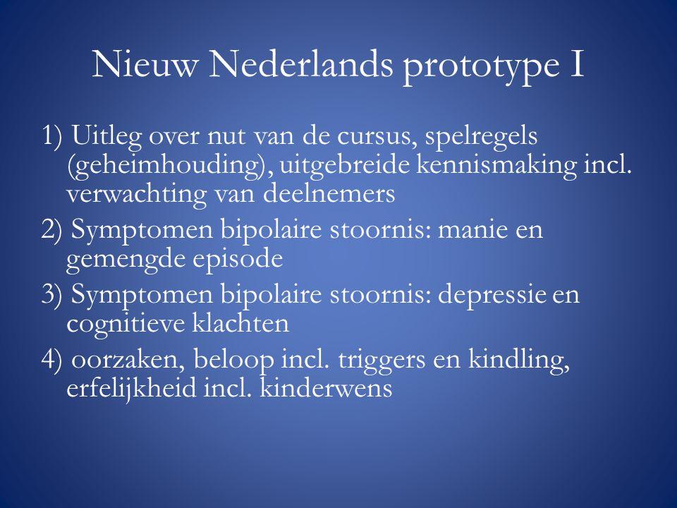 Nieuw Nederlands prototype I