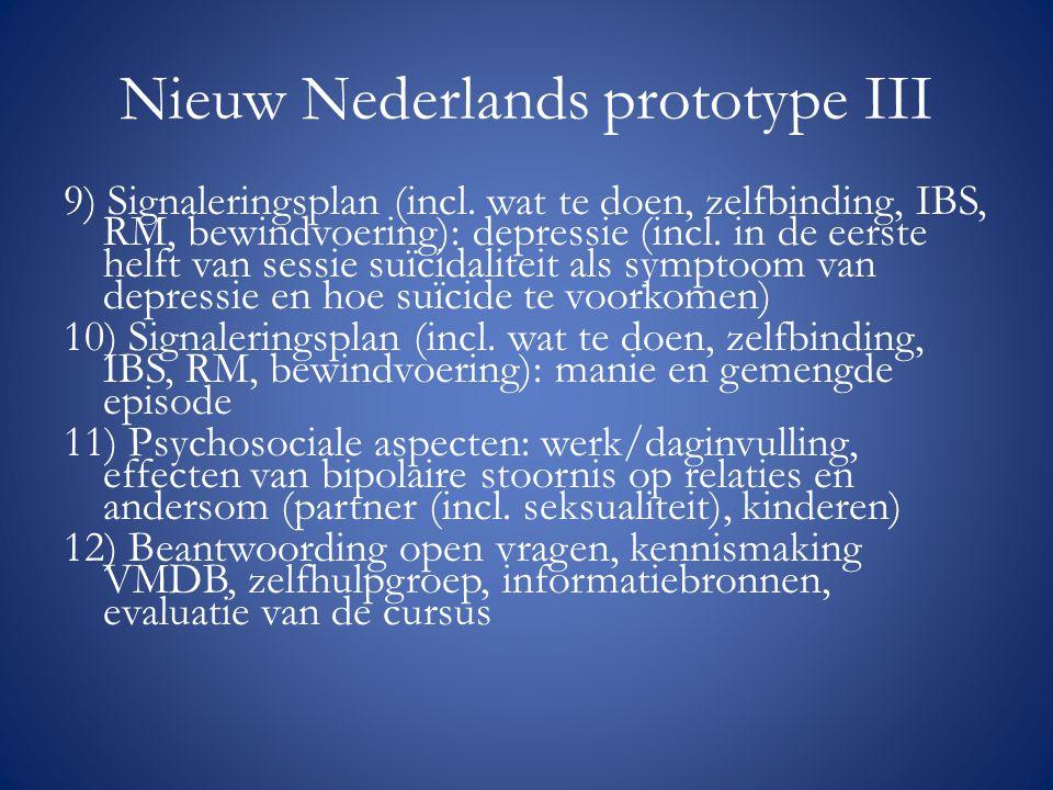 Nieuw Nederlands prototype III
