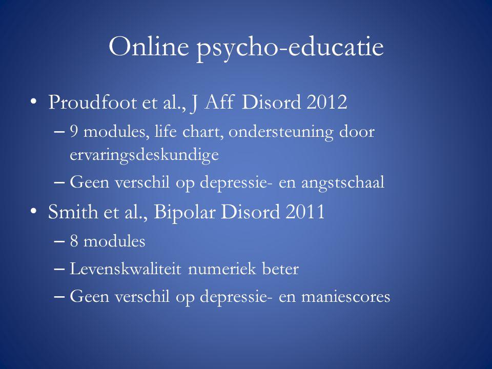 Online psycho-educatie