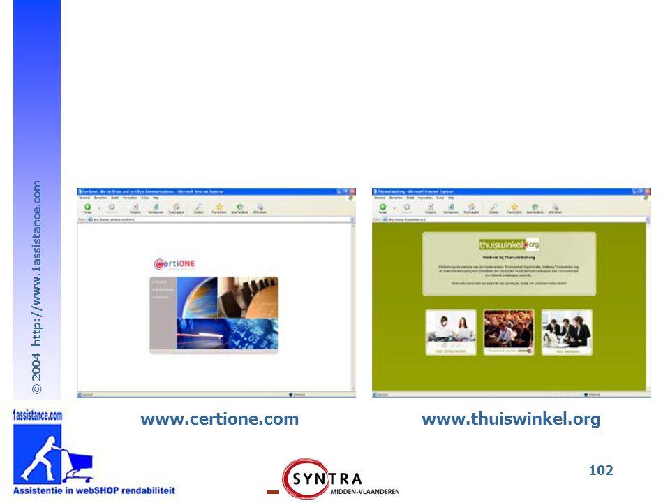www.certione.com www.thuiswinkel.org