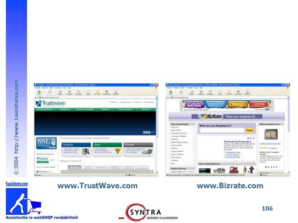 www.TrustWave.com www.Bizrate.com