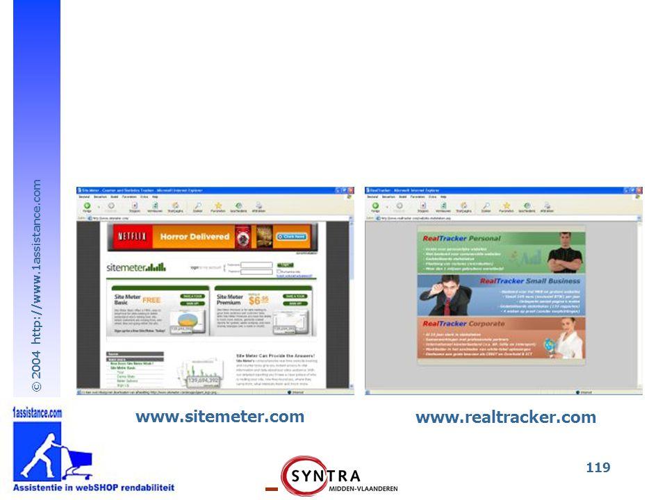 www.sitemeter.com www.realtracker.com