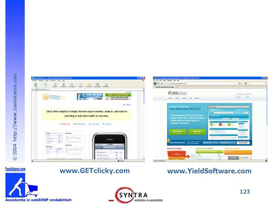 www.GETclicky.com www.YieldSoftware.com