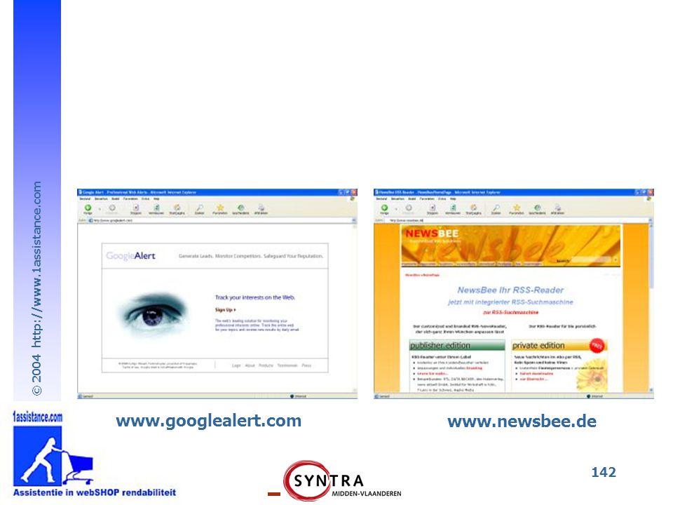 www.googlealert.com www.newsbee.de