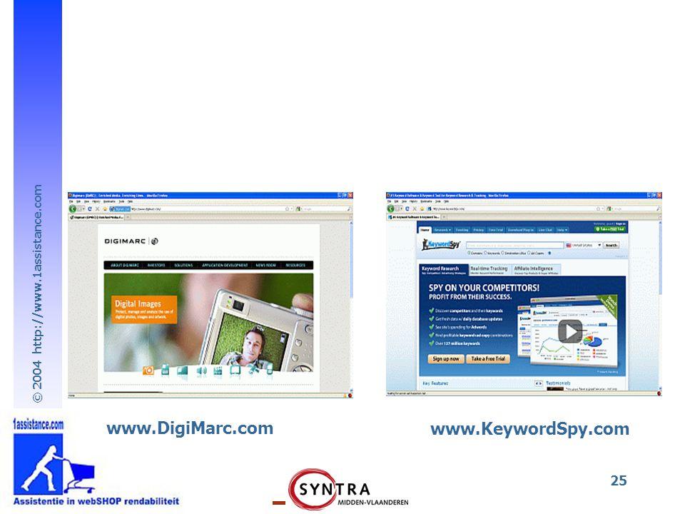 www.DigiMarc.com www.KeywordSpy.com