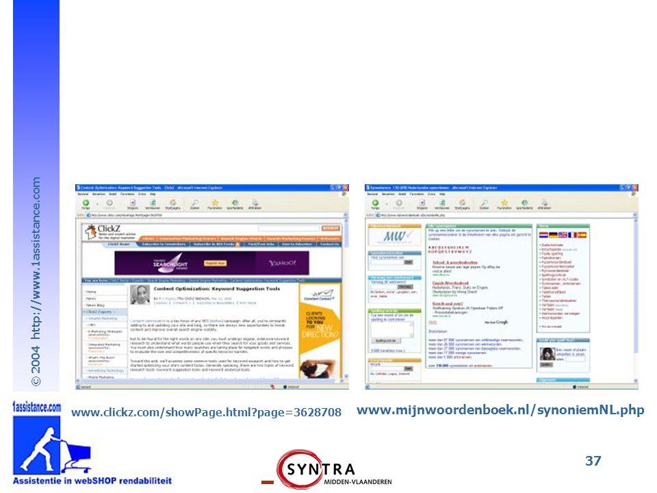 www.clickz.com/showPage.html page=3628708 www.mijnwoordenboek.nl/synoniemNL.php