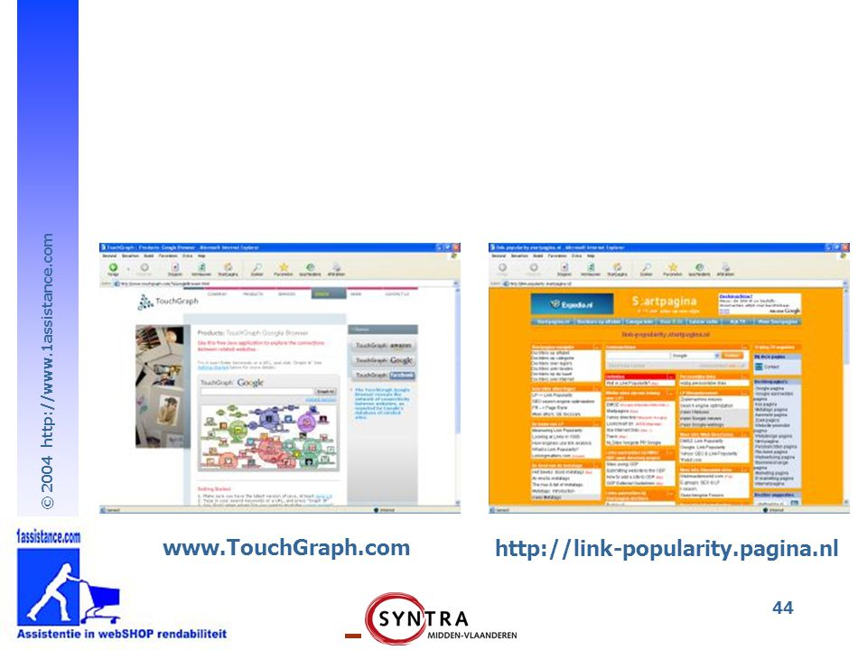www.TouchGraph.com http://link-popularity.pagina.nl