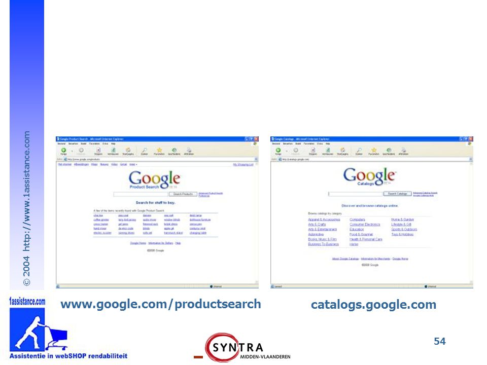 www.google.com/productsearch catalogs.google.com